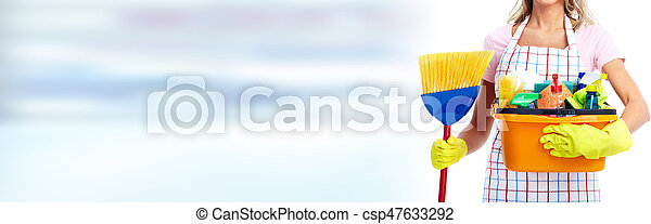House cleaning - csp47633292