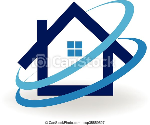 cold air conditioner clipart. house cold air conditioning logo - csp35859527 conditioner clipart