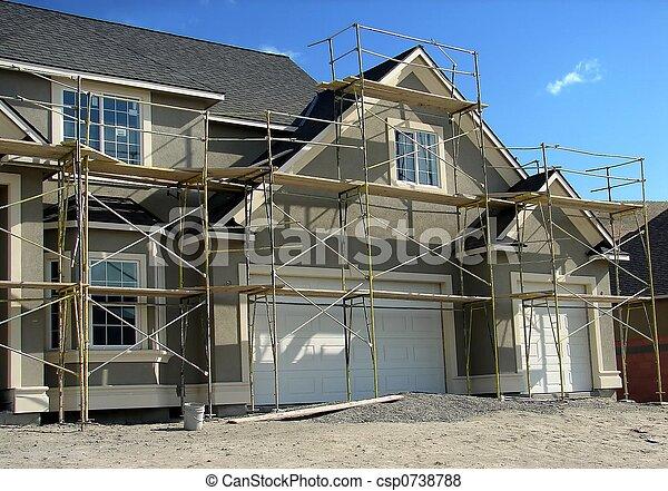 House Construction - csp0738788