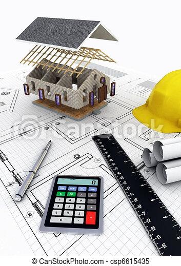 House Construction - csp6615435