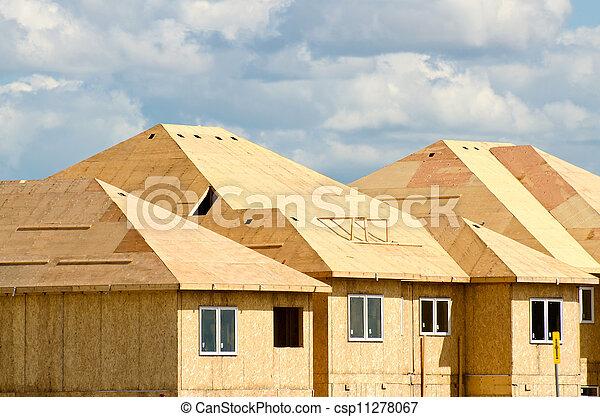 House construction - csp11278067