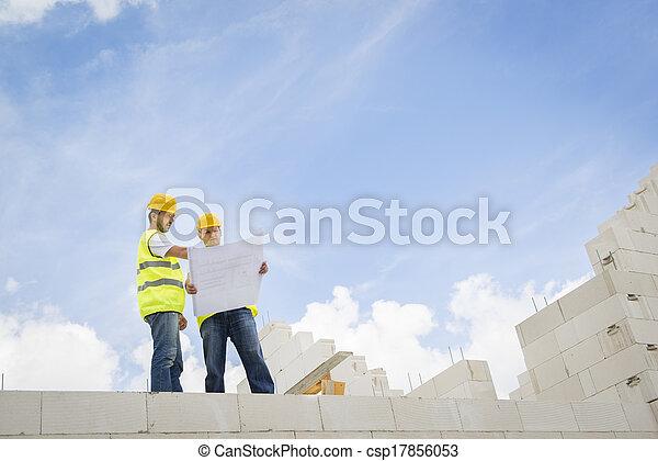 House construction - csp17856053