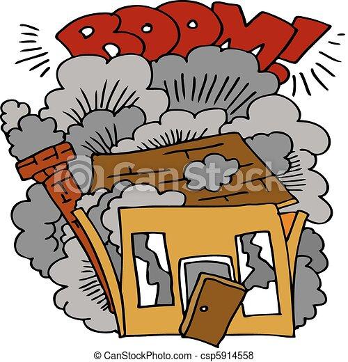 House Demolition - csp5914558