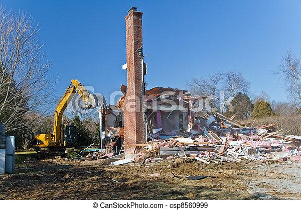House Demolition - csp8560999