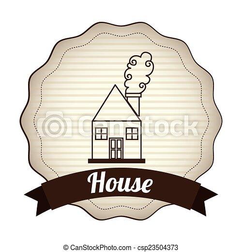 house design  - csp23504373