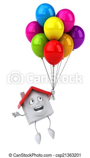 House - csp21363201
