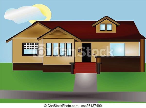 house - csp36137490