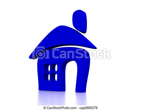 house - csp2695379