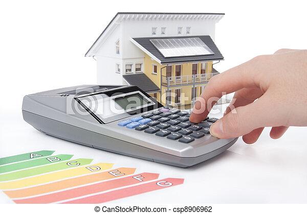 House Energy Efficiency Rating - csp8906962