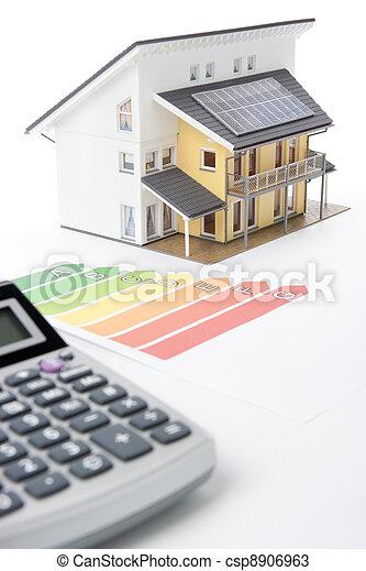 House Energy Efficiency Rating - csp8906963