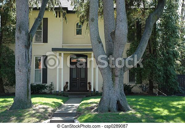 House Entrance - csp0289087