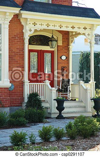 House Entrance - csp0291107