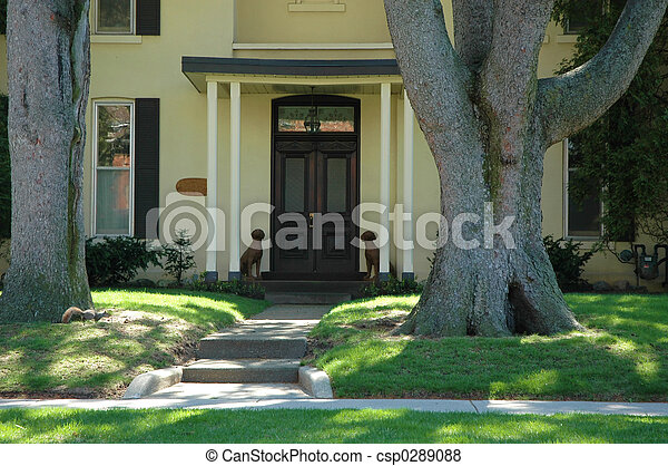 House Entrance - csp0289088