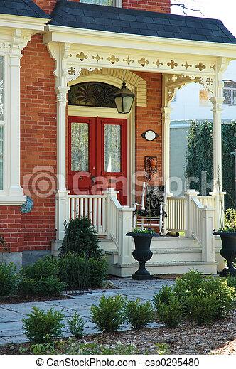 House Entrance - csp0295480