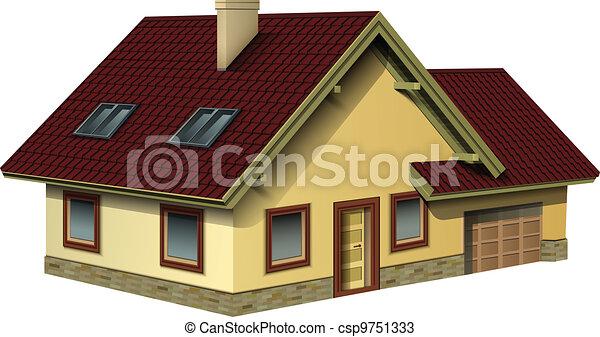 House - csp9751333