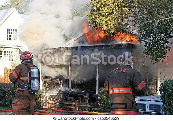 House Fire 2 - csp0546529