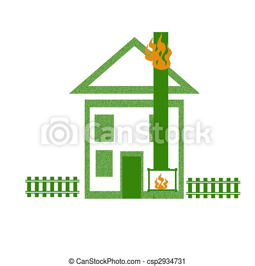 house fire illustration house roof on fire safety poster illustration