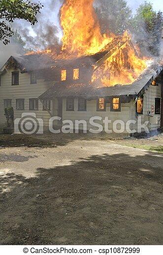 House Fire - csp10872999
