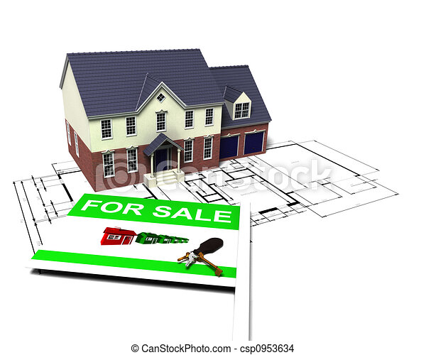 House for sale - csp0953634