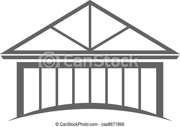 House frame - csp8671866