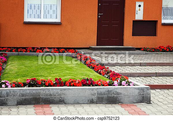 House Garden - csp9752123