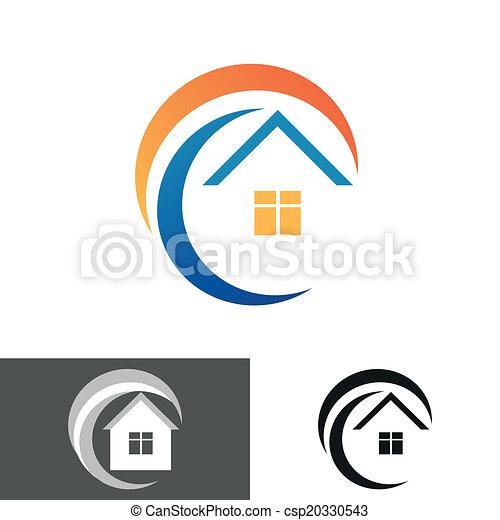 house home logo, icon - csp20330543