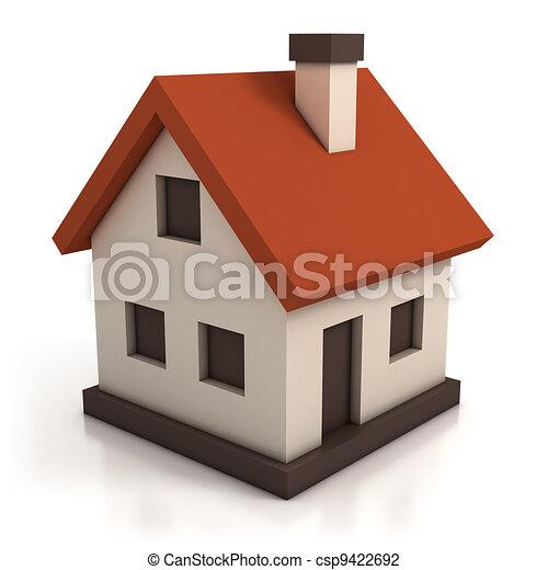 house icon  - csp9422692