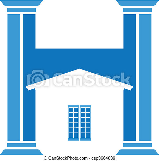 house icon - csp3664039