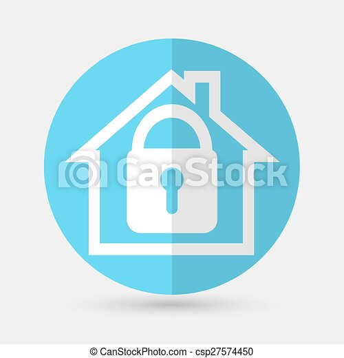 house icon on a white background - csp27574450