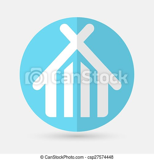 house icon on a white background - csp27574448