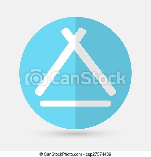house icon on a white background - csp27574439