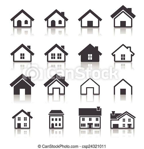 house icon - csp24321011