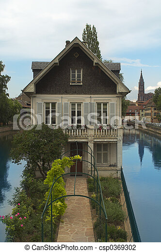 House in Strasbourg - csp0369302