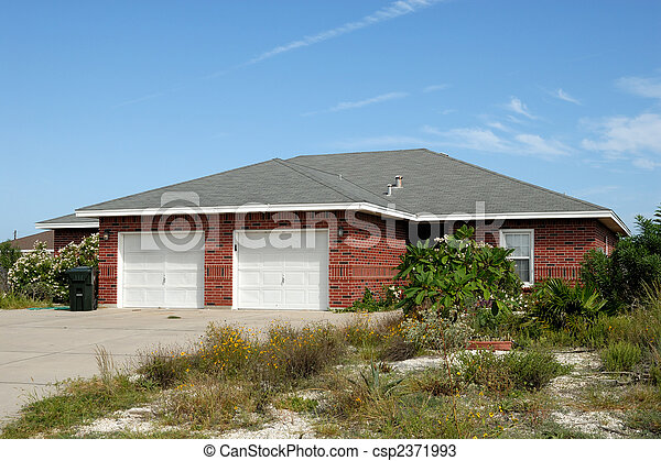 House in the United States - csp2371993