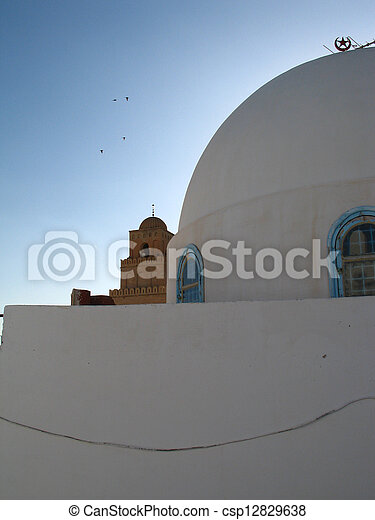 House in Tunisia with cupola - csp12829638