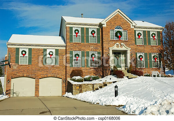 House in Winter - csp0168006