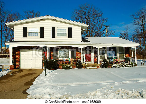 House in Winter - csp0168009