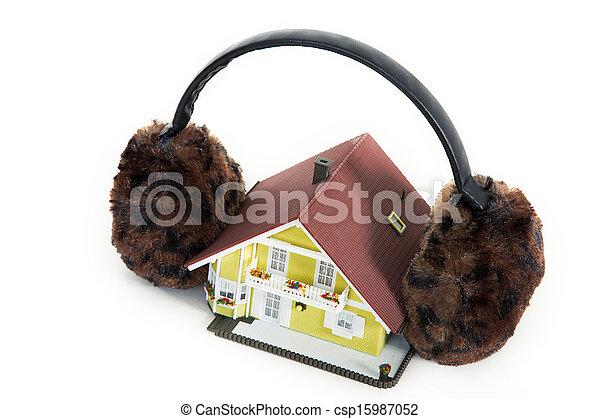 house insulation - csp15987052