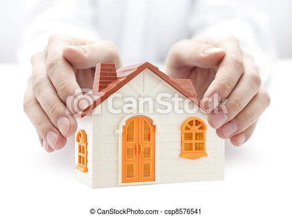 House insurance - csp8576541