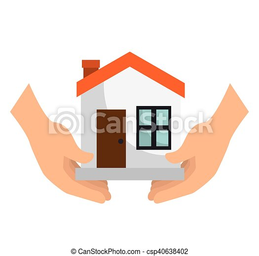 house insurance security - csp40638402