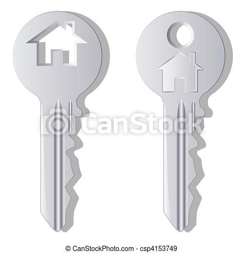 House key - csp4153749