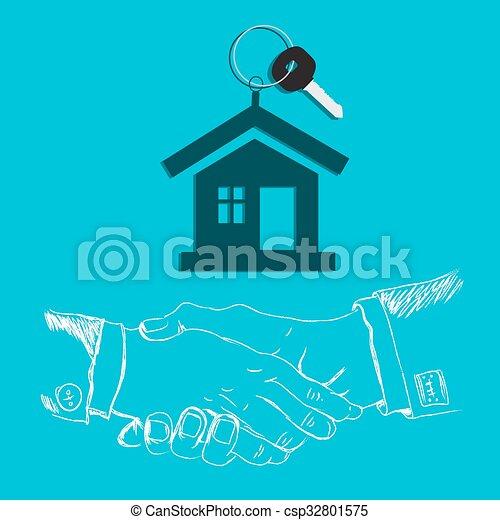 house key - csp32801575