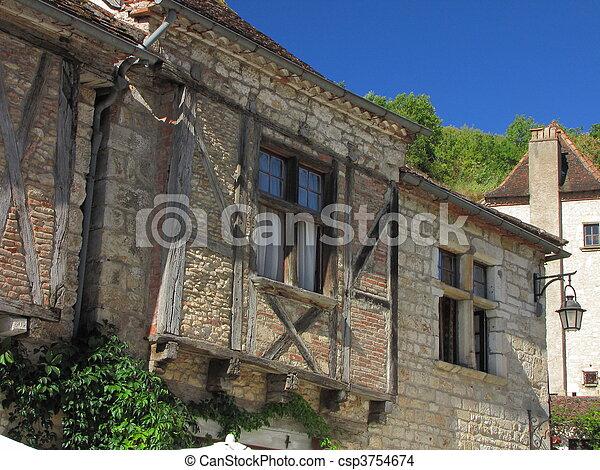 House, Lapopie - csp3754674