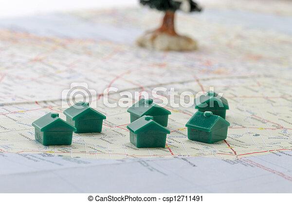 house locations - csp12711491
