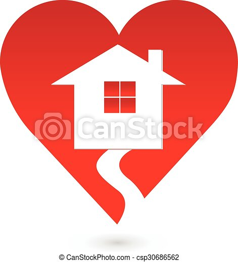 Super House Love Heart Logo Home Remodeling Inspirations Genioncuboardxyz