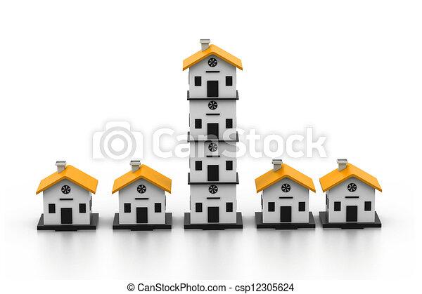 House Market - csp12305624