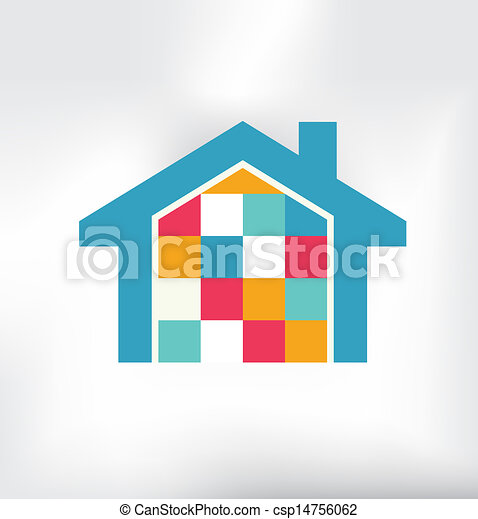 House Modern Logo - csp14756062
