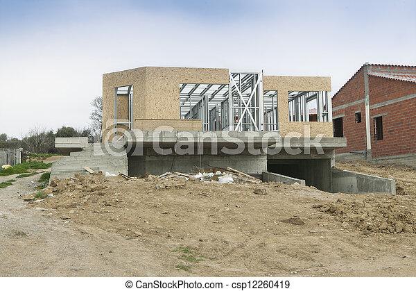 House new construction - csp12260419