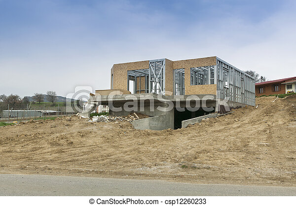 House new construction - csp12260233