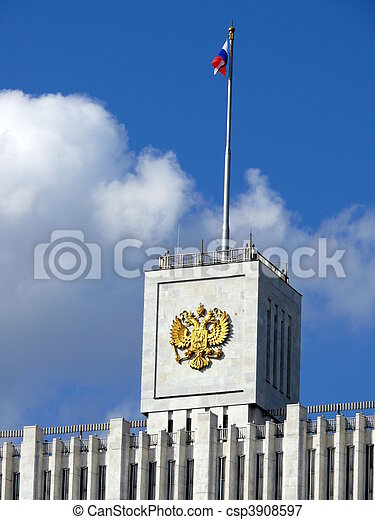 House of government of Russian Federation - csp3908597